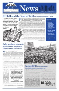 ALFI News Issue 3, Year 9 / September 2012