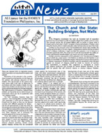 ALFI News Issue 1, Year 8, July 2011