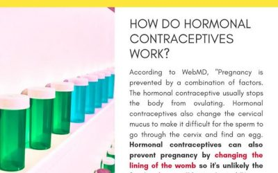 How do hormonal contraceptives work?