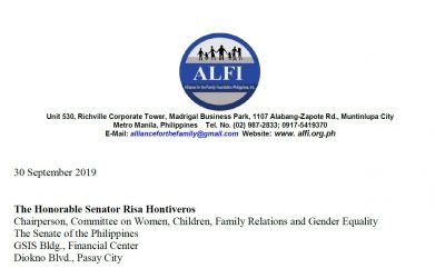 Position Paper on the SOGIE Equality Bill