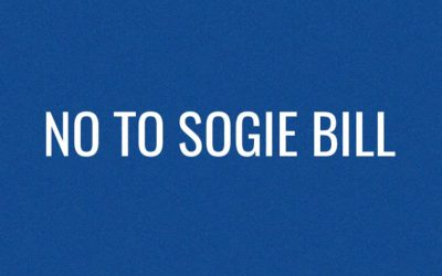 NO TO SOGIE BILL