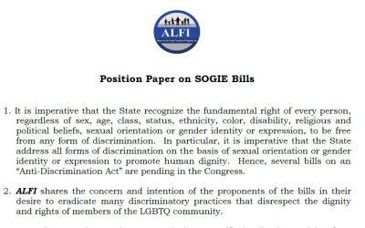 ALFI's Position Paper on SOGIE Bills