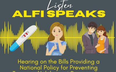 Listen, ALFI Speaks